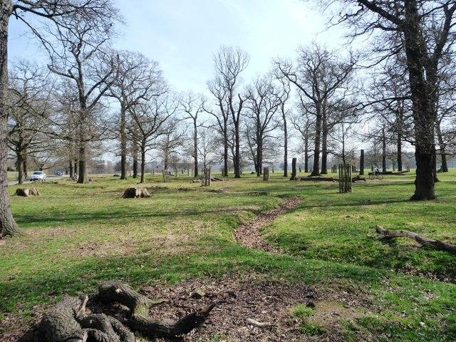 Richmond Park by East Sheen Gate
