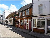 SU3521 : Romsey - Tudor Rose Public House by Chris Talbot