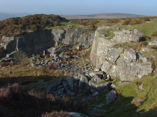 Quarry, Haytor Down