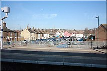 TQ7369 : View from Strood Station by John Salmon