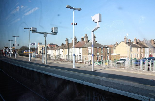 View from Strood Station