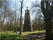 TQ1272 : The Shot Tower in Crane Park by Marathon