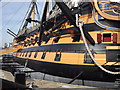 SU6200 : Starboard Side, HMS Victory by Colin Smith