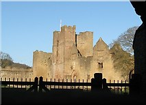 SO5074 : Ludlow Castle by Chris Andrews