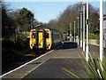 TG2142 : Train arriving at Cromer Station by John Lucas