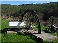 ST2393 : Colliery monument, Cwm Carn by Robin Drayton