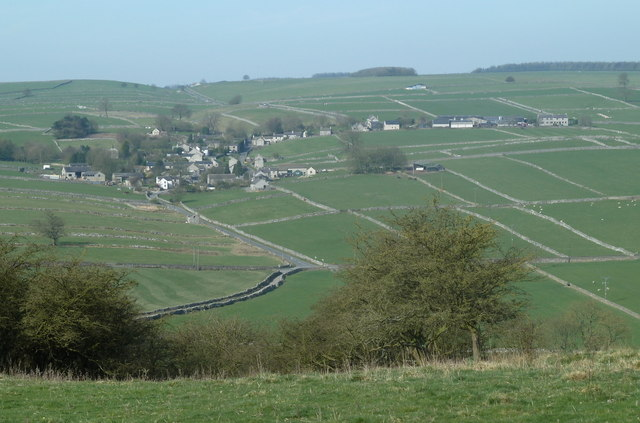 View of Little Hucklow