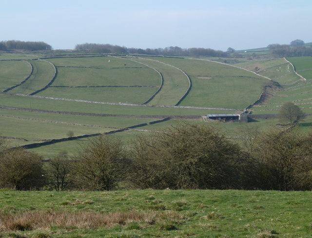 Field pattern near Little Hucklow