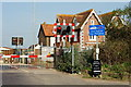 TQ0004 : Level Crossing at Ford, Sussex by Peter Trimming