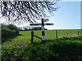 SU0125 : Fingerpost, Fifield Bavant by Maigheach-gheal