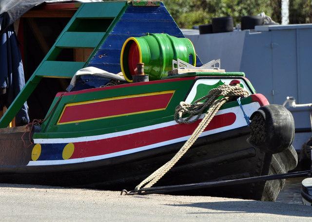 Fradley Junction narrowboat