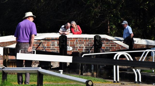 Fradley Junction: Bridge & Lock