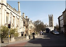 SP5106 : Magdalen College, High Street, Oxford by Robin Sones