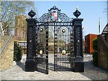 TQ2677 : The Cremorne Gates by Marathon
