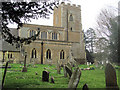 SP9019 : The North Side of St Mary the Virgin, Mentmore by Chris Reynolds