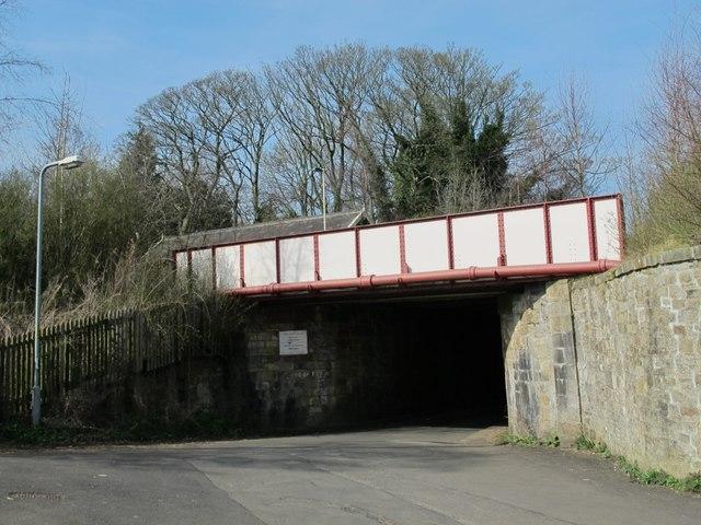 Newcastle-Carlisle railway line bridge