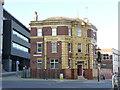 SK3586 : Rutland Arms, Brown Street by Alan Murray-Rust