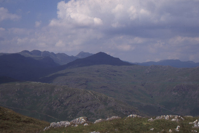 Looking north-west from Wetherlam