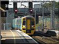 SP1883 : An Arriva train enters Birmingham International Station by John Lucas