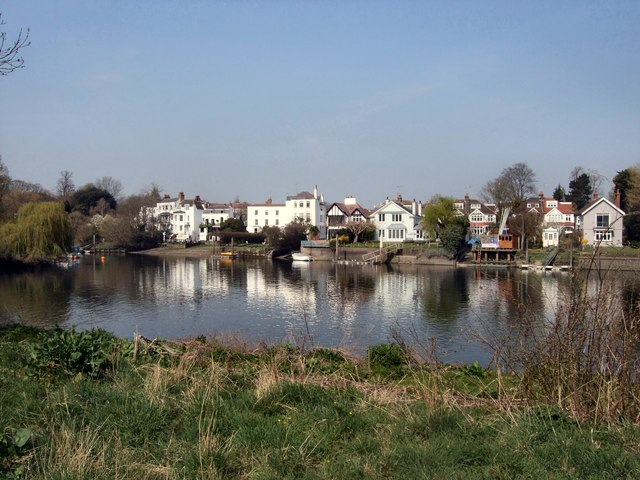 View across the Thames to Twickenham