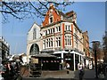 TQ1774 : Cafe in the Square, Richmond by Paul Gillett