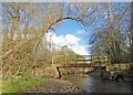 SE3904 : Footbridge over the River Dove by Steve  Fareham