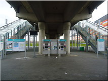 TQ4380 : Gallions Reach DLR station by Stacey Harris