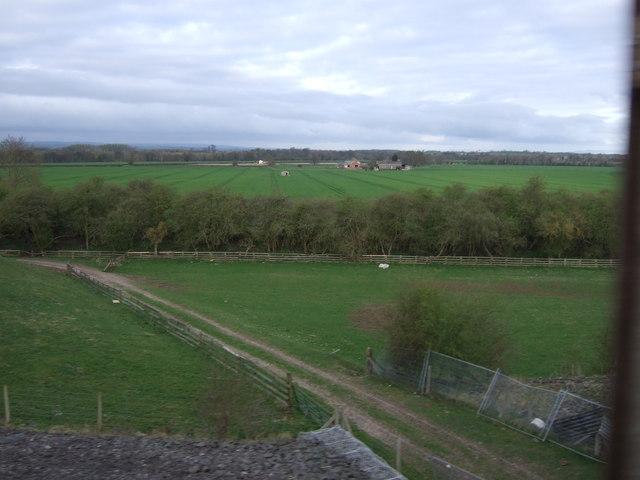 Farm track, Hill Top Farm
