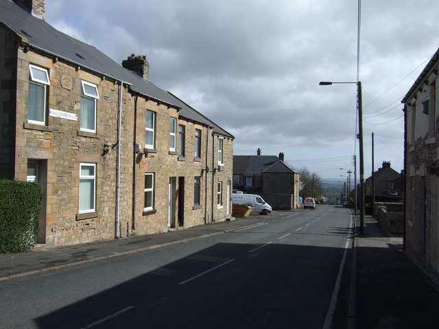 West Road (B6311), White-le-Head