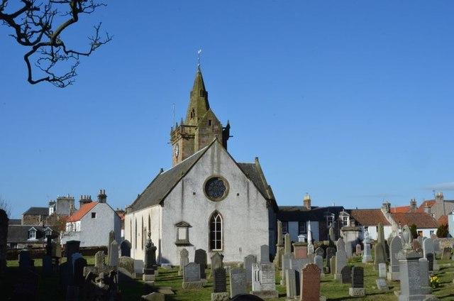 Pittenweem Church and burial ground