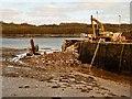 NX4846 : Garlieston Pier by Andy Farrington