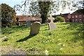 SO8139 : Old Welland Churchyard by Bob Embleton
