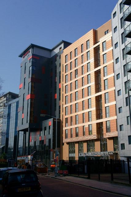 New Buildings at East Croydon