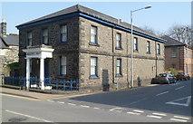 SH5638 : Grade II listed Masonic Hall, Porthmadog by Jaggery