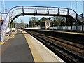 NT1985 : Station footbridge by James Allan