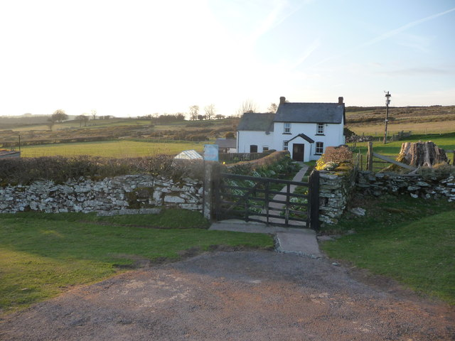Pant-cil-y-gatws on Mynydd Illtud Common