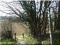 TQ5671 : Public footpath, Darenth by Stacey Harris