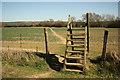 SP7484 : Footpath to Braybrooke by Richard Croft