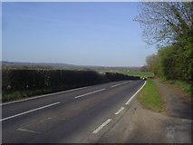 TQ5246 : The B2027, Chiddingstone Causeway by David Howard