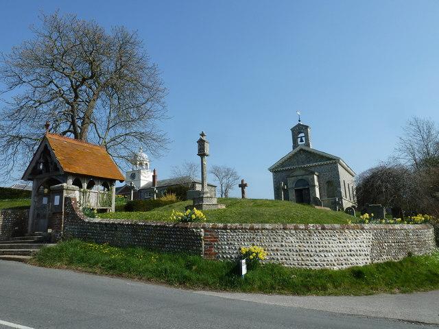 St Mary, Glynde: Spring 2012