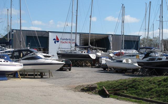 Fambridge Yacht Haven yard