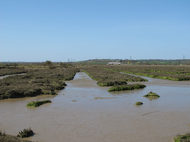 Channels in the marshes
