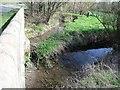 SK3926 : Carr Brook meets Ramsley Brook at New Bridge by Ian Calderwood