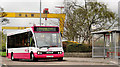 J3574 : Eastside park and ride bus, Belfast by Albert Bridge