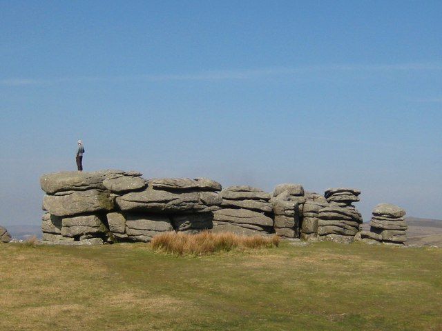 Another view of Combestone Tor