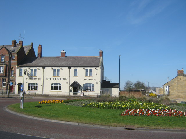 The Red Lion in Bedlington