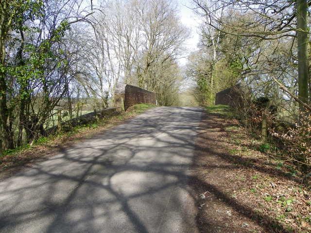 Railway bridge, Ingram's Green Lane