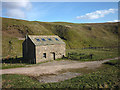NY8118 : Converted barn by Swindale Beck by Karl and Ali