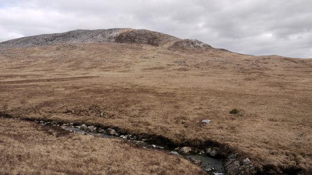 Nameless stream draining Glen Scaftigill