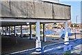 SU3814 : Open air restaurant, former Ordnance Survey site by Alex McGregor